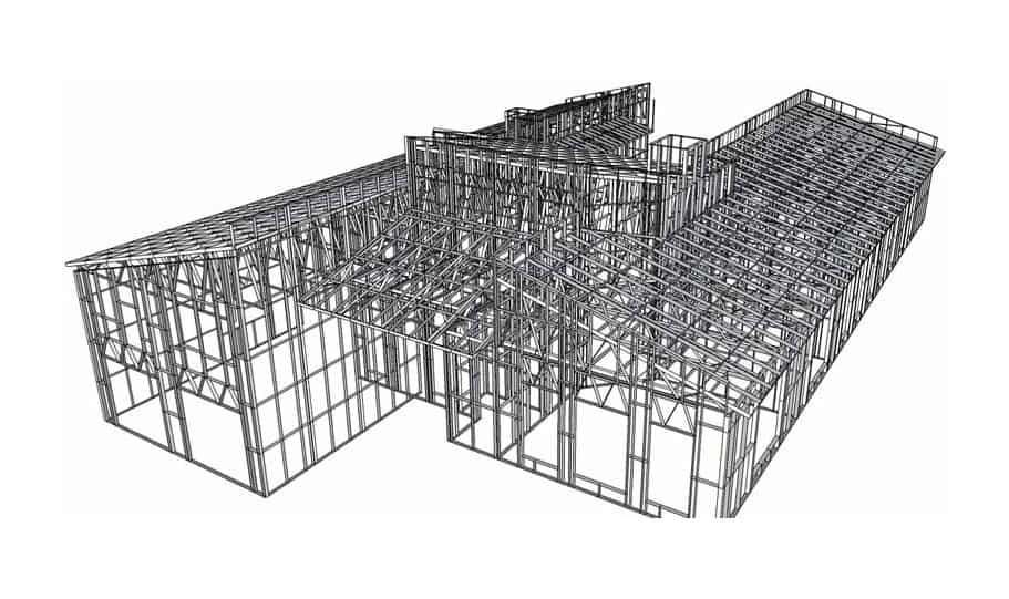 Kit Home Steel Frame