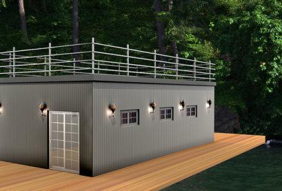 Spark Boat House House Boat Bedroom
