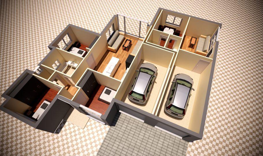 Duplex Design Home Plan Duk D