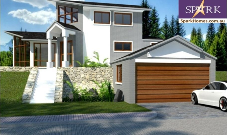Sloping Land Plans – M Bed Bath