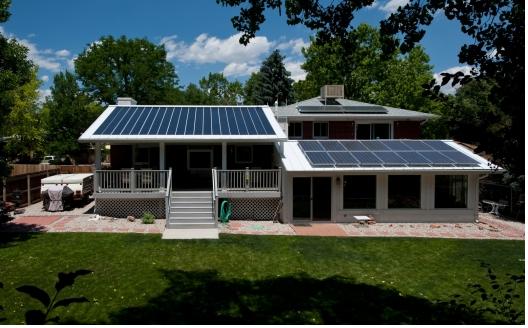 Spark Homes Solar Panels