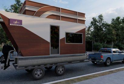 Spark Tiny House Boat