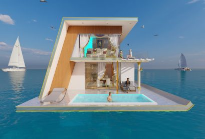 Spark Homes Sea Horse Luxery Boat House
